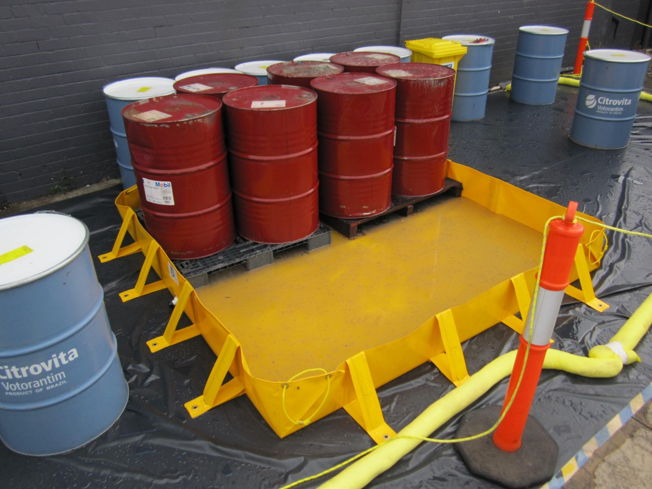 Onsite Spill Containment Systems