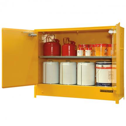 spill-ready-chemical-storage-cabinets-flammable_heavy_duty_160L_double_door