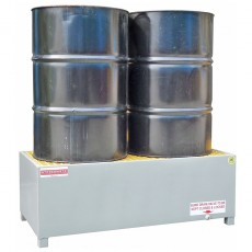spill-ready-2-drum-steel-bunding