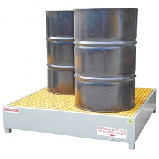 spill-ready-4-drum-steel-bunding