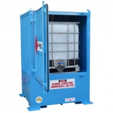 spill-ready-dangerous-goods-cabinets-outdoor-relocatable-IBC-store-1-IBC