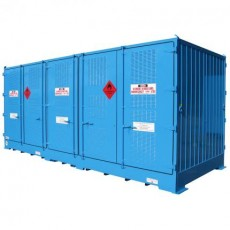 spill-ready-dangerous-goods-cabinets-outdoor-relocatable-IBC-store-20-IBC-double-depth