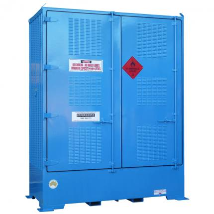 spill-ready-dangerous-goods-cabinets-outdoor-relocatable-IBC-store-4-IBC