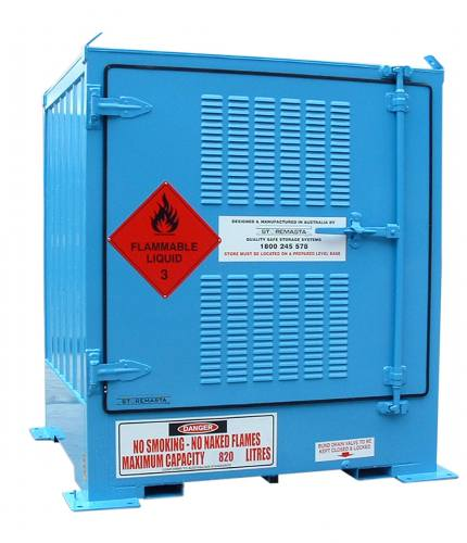 spill-ready-dangerous-goods-cabinets-outdoor-relocatable-drum-store-1-pallet