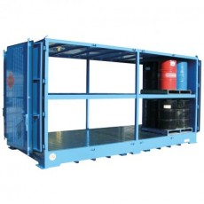 spill-ready-dangerous-goods-cabinets-outdoor-relocatable-drum-store-16-pallet-double-depth-2