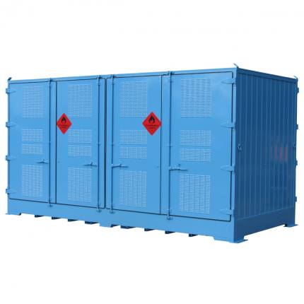 spill-ready-dangerous-goods-cabinets-outdoor-relocatable-drum-store-16-pallet-double-depth