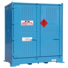 spill-ready-dangerous-goods-cabinets-outdoor-relocatable-drum-store-4-pallet