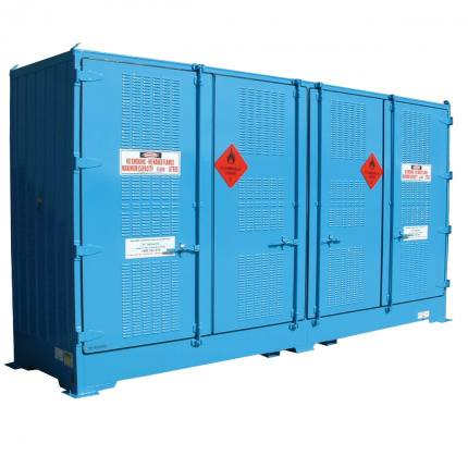 spill-ready-dangerous-goods-cabinets-outdoor-relocatable-drum-store-8-pallet