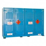 Chemical Storage Cabinets/Relocatable Outdoor Bulk Dangerous Goods Stores/ Outdoor Small Volume Store  sc 1 st  Spill Ready & 850L - Outdoor Relocatable Store | SPILL READY