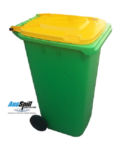 AusSpill Spill Kit Bin Standard Colour##